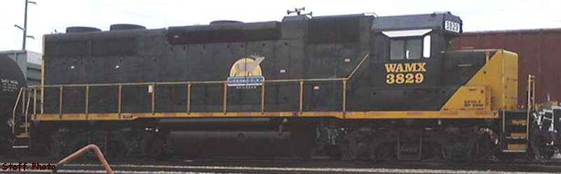 Cicero Central Locomotive