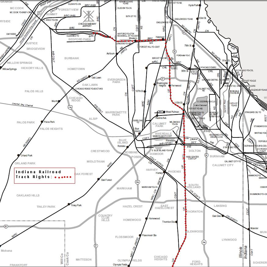 Chicago Area Shortline Railroads  Indiana Railroad