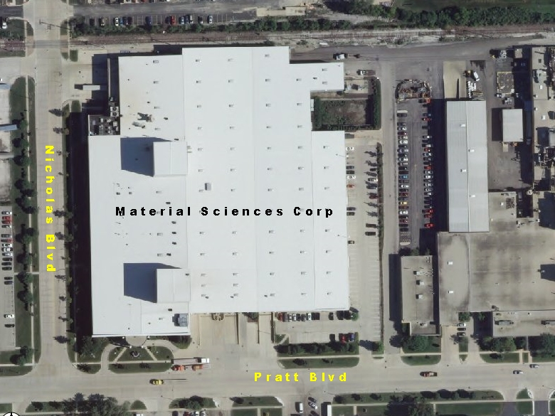 Material Sciences Corp Location