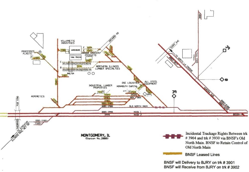 Chicago Area Shortline Railroads - Burlington Junction